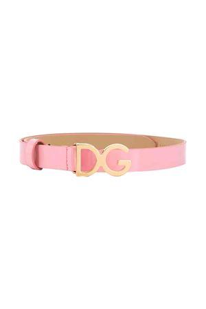 Pink belt for girls Dolce and Gabbana kids  Dolce & Gabbana kids | 22 | EE0040A147180416