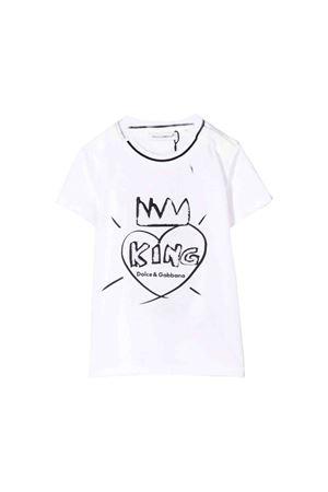 T-shirt bambino bianca Dolce e Gabbana kids Dolce & Gabbana kids | 8 | L1JT7WG7STHHWKK4