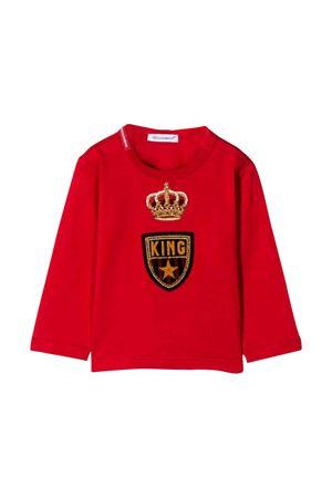 Dolce e Gabbana kids red sweatshirt  Dolce & Gabbana kids | 8 | L1JT9VG7TNVR2254