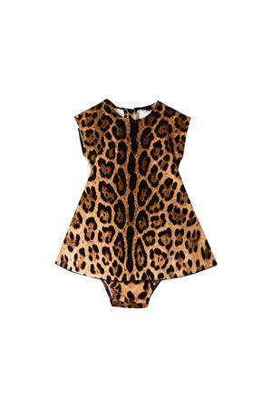 Abito neonata leopardato Dolce e Gabbana kids Dolce & Gabbana kids | 11 | L2JD0RFSGQXHY13M