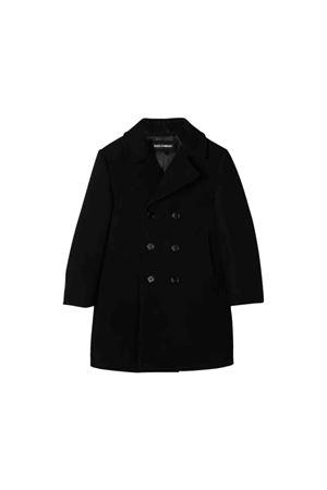 Cappotto doppiopetto nero Dolce & Gabbana kids Dolce & Gabbana kids | 17 | L41C78HU7DEN0000