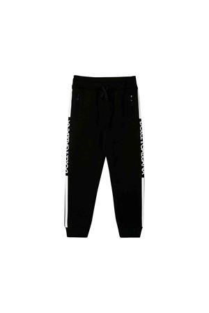 Pantalone sportivo nero bambino Dolce e Gabbana kids Dolce & Gabbana kids | 9 | L4JPWLG7SSXN0000