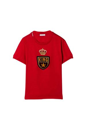 Red T-shirt Dolce and Gabbana kids  Dolce & Gabbana kids | 8 | L4JT7LG7TNVR2254