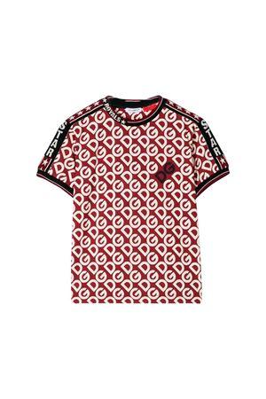 T-shirt bordeaux Dolce e Gabbana kids Dolce & Gabbana kids | 8 | L4JT9FG7TXBHR92A