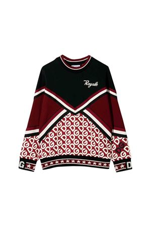 Dark red and black sweater Dolce e Gabbana kids  Dolce & Gabbana kids | -108764232 | L4JW7BG7TXRS9000