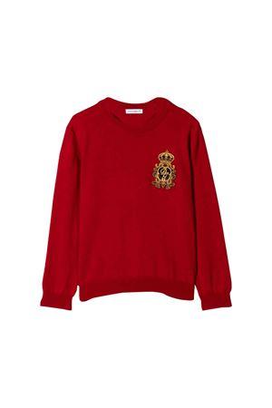 Felpa bambino rossa Dolce e Gabbana kids Dolce & Gabbana kids | -1384759495 | L4KW33JAVPGR3484