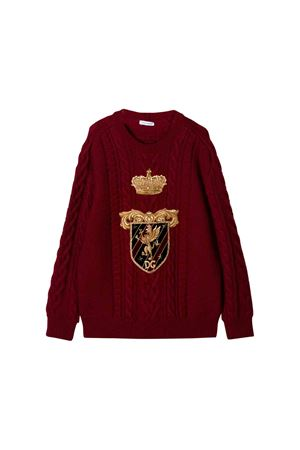 Dark red sweater Dolce e Gabbana kids Dolce & Gabbana kids | 1169408113 | L4KW50JAVQPR0369