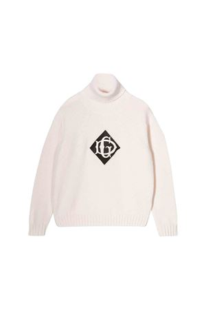 Dolce and Gabbana kids high collar sweater  Dolce & Gabbana kids | 1034792055 | L4KW53JAVSMW0001