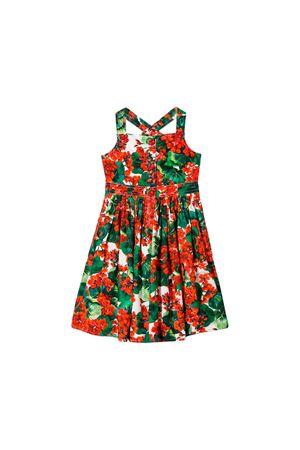Abito stampa gerani rossi Dolce e Gabbana kids Dolce & Gabbana kids | 11 | L51DI6HS5CLHAV03