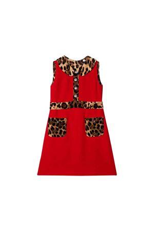 Red girl dress Dolce and Gabbana kids  Dolce & Gabbana kids | 11 | L51DS9G7TPQR2254