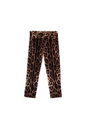 Pantaloni bambina Dolce e Gabbana kids Dolce & Gabbana kids | 9 | L52P56FSWBHHY13M