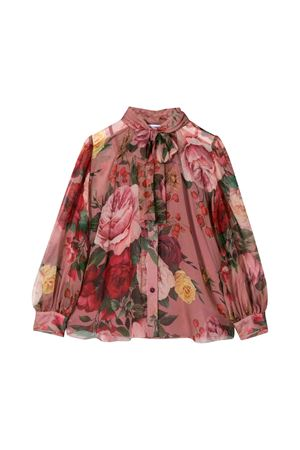 Dolce and Gabbana kids floral blouse  Dolce & Gabbana kids | 6 | L54S33HS16KHF82A