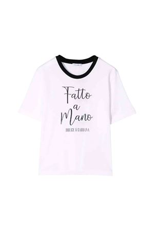 White Dolce and Gabbana kids t-shirt  Dolce & Gabbana kids | 8 | L5JTAZG7TZZW0800