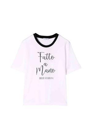 T-shirt bianca bambino Dolce e Gabbana kids Dolce & Gabbana kids | 8 | L5JTAZG7TZZW0800