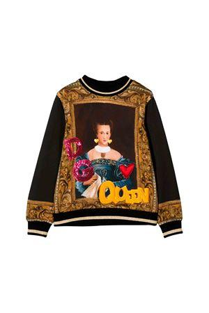 Felpa nera bambino Dolce e Gabbana kids Dolce & Gabbana kids | -108764232 | L5JW1JG7TUEHN11A