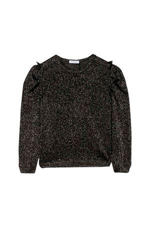 Black and gold sweater for girls Dolce and Gabbana kids Dolce & Gabbana kids | -1384759495 | L5KW63JAICVS1004