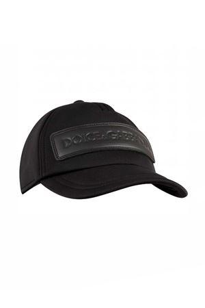 DOLCE E GABBANA KIDS BLACK HAT Dolce & Gabbana kids | 75988881 | LB4H58G7THWN0000
