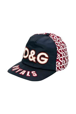 Dolce and Gabbana kids black cap  Dolce & Gabbana kids | 75988881 | LB4H65G7TWXHR92A