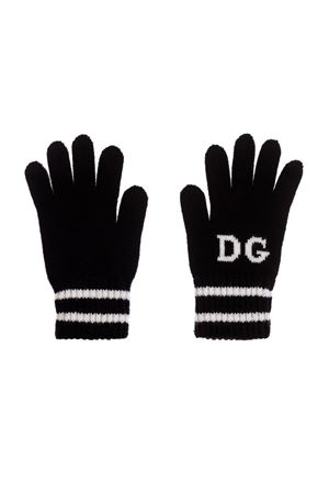 BLACK AND WHITE GLOVES DOLCE&GABBANA KIDS Dolce & Gabbana kids | 34 | LBKA19JAVPFS9000