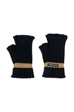 Black wool gloves Dolce and Gabbana kids  Dolce & Gabbana kids | 34 | LBKA30JAVQXN0000