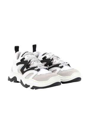 White sneakers with black details Dsquared2 kids DSQUARED2 KIDS | 12 | 624361