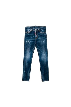 Dark denim jeans Dsquared2 kids teen  DSQUARED2 KIDS | 9 | DQ01DXD00VQDQ01T