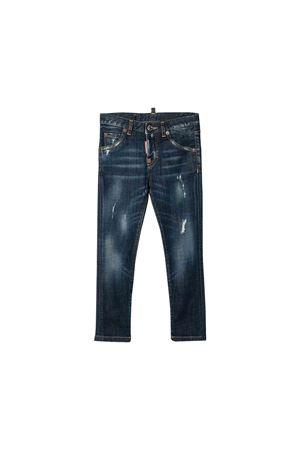Blue teen jeans Dsquared2 kids DSQUARED2 KIDS   9   DQ01PXD00VSDQ01T