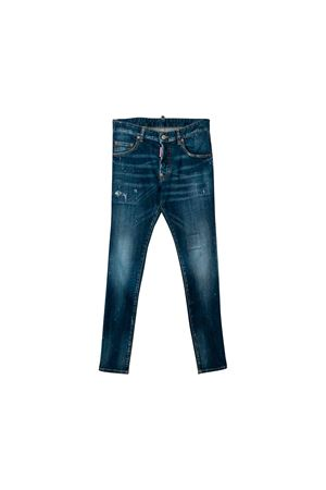 Dark denim jeans Dsquared2 kids teen DSQUARED2 KIDS | 9 | DQ01Q3D00VUDQ01T