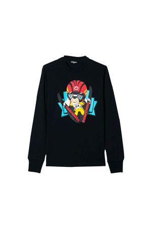 Black Dsquared2 Kids sweatshirt  DSQUARED2 KIDS | 7 | DQ03KZD00MQDQ863