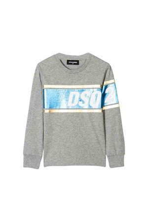 Gray Dsquared2 kids sweatshirt  DSQUARED2 KIDS   7   DQ03L2D00PZDQ911
