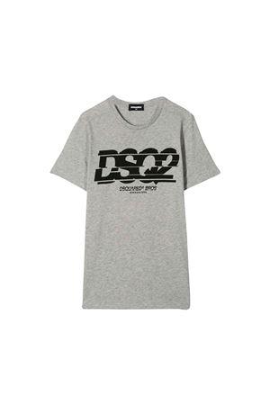 T-shirt grigia bambino Dsquared2 Kids DSQUARED2 KIDS | 7 | DQ03L4D00TKDQ979