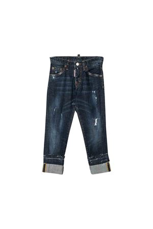 Jeans blu scuro Dsquared2 kids teen DSQUARED2 KIDS | 9 | DQ03LBD00VSDQ01T