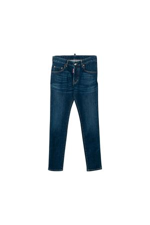 JEANS BLU SCURO BAMBINO DSQUARED2 KIDS DSQUARED2 KIDS | 9 | DQ03LDD00VQDQ01