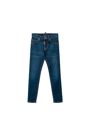 Jeans in denim scuro bambina Dsquared2 kids DSQUARED2 KIDS | 9 | DQ03LDD00VRDQ01