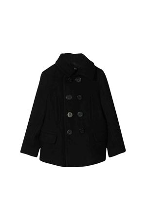 Black short coat Dsquared2 kids teen  DSQUARED2 KIDS | 3 | DQ03LQD00V4DQ900T