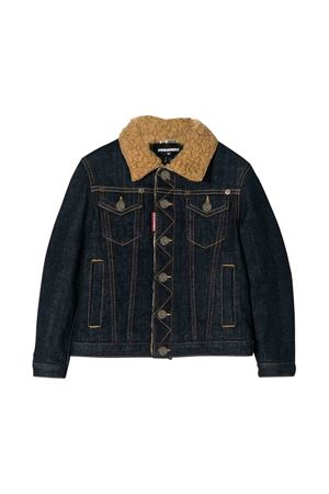 Giubbino in denim Dsquared2 kids teen DSQUARED2 KIDS | 3 | DQ03LUD00VJDQ01T