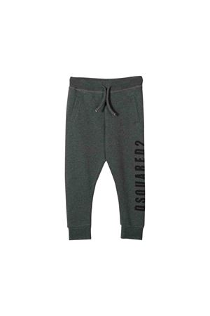 Gray jogging pants Dsquared2 kids teen  DSQUARED2 KIDS | 9 | DQ03MHD00P8DQ904T