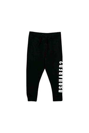 Black jogging pants Dsquared2 kids teen  DSQUARED2 KIDS   9   DQ03MHD00W0DQ900T