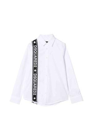 Dsquared2 kids white shirt  DSQUARED2 KIDS   6   DQ03MPD00EDDQ100