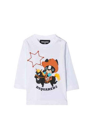 White T-shirt Dsquared2 kids  DSQUARED2 KIDS | 7 | DQ03NED00MMDQ100