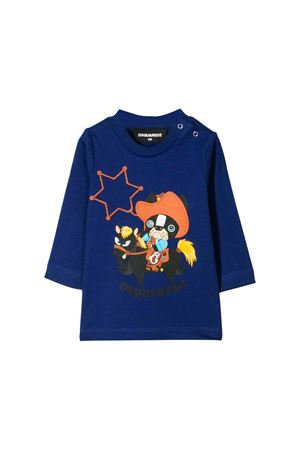 T-shirt blu Dsquared2 kids DSQUARED2 KIDS | 7 | DQ03NED00MMDQ861