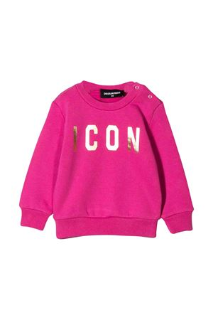Felpa fucsia Dsquared2 kids DSQUARED2 KIDS | -108764232 | DQ03NKD00Q8DQ353