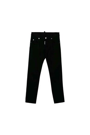 Dsquared2 kids black trousers DSQUARED2 KIDS | 9 | DQ03NQD00IWDQ900