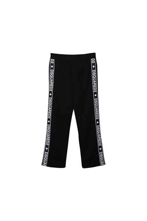 Pantalone nero Dsquared2 kids teen DSQUARED2 KIDS | 9 | DQ03NSD00V3DQ900T