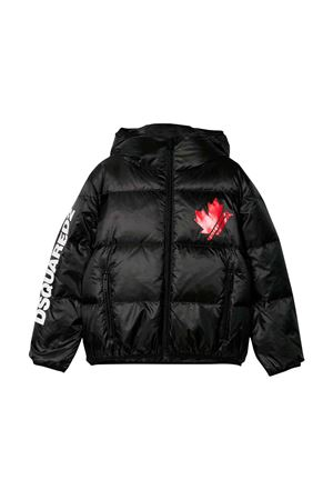 Giubbino nero Dsquared2 kids teen DSQUARED2 KIDS | 3 | DQ03NUD00WQDQ900T
