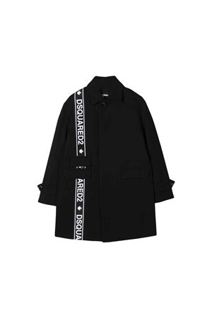 Dsquared2 kids black long jacket  DSQUARED2 KIDS | 3 | DQ03NVD00P1DQ900