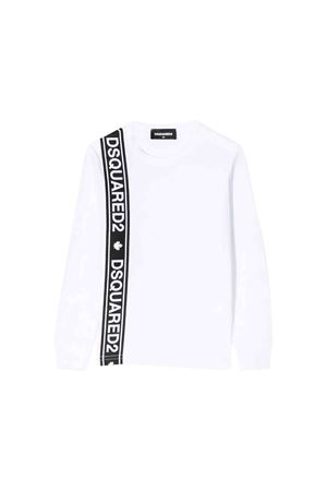 White Dsquared2 kids t-shirt  DSQUARED2 KIDS | 7 | DQ03NZD00A8DQ100