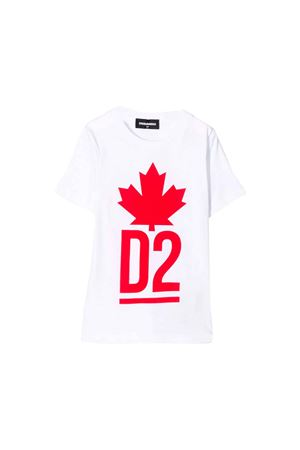 T-shirt bianca bambino Dsquared2 Kids DSQUARED2 KIDS | 7 | DQ03P1D00A8DQ100
