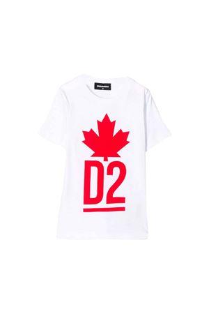 T-shirt bianca Dsquared2 Kids teen DSQUARED2 KIDS | 7 | DQ03P1D00A8DQ100T