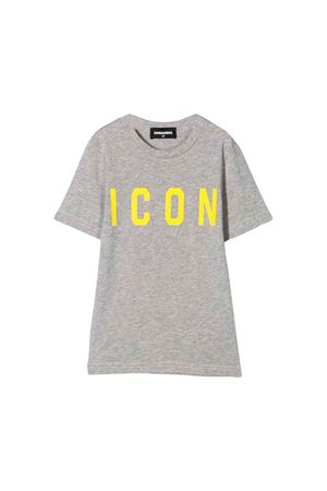 Gray T-shirt Dsquared2 kids teen  DSQUARED2 KIDS | 7 | DQ03P3D00TKDQ979T